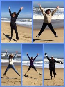 Beyond SOAR Sisters jumping