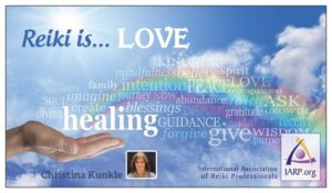 Reiki Business Card Back